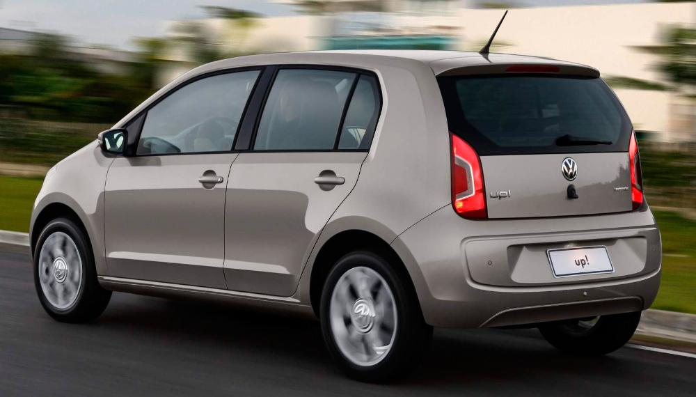 Los mejores coches para hacer turismo: Volkswagen Up!